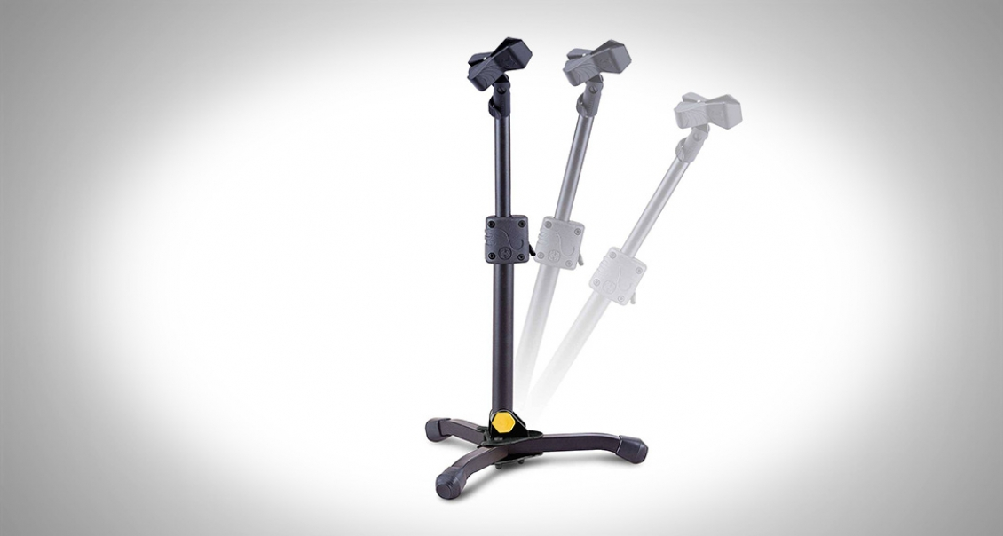Hercules MS300B Low Profile Mic Stand