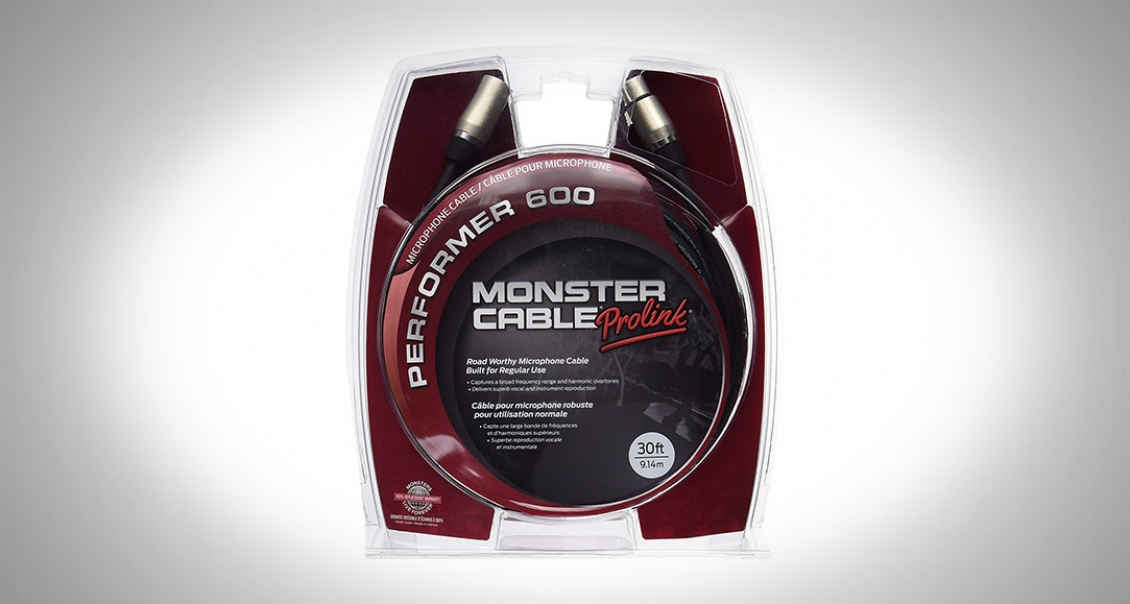 Monster Performer 600 (XLR) Cable